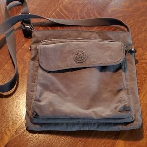 Charcoal Kipling Crossbody Bag